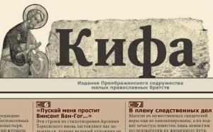 СИНФО вынес предупреждение газете «Кифа»