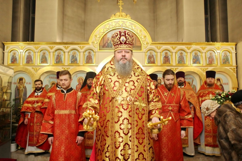 Расписание богослужений митрополита Корнилия 14 — 18 февраля
